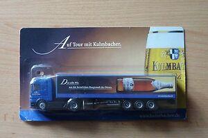 Modellino-autocarro-per-birra-Rimorchio-trasporto-BENZ-ACTROS-KULMBACHER-4HS-16