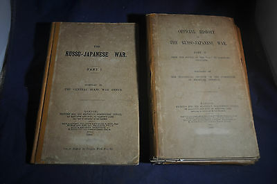 1906  First Rare  The Russo Japanese War By British General Staff