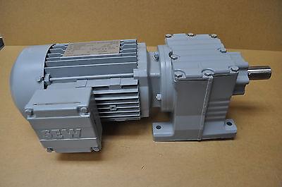 Sew Eurodrive R27dt80n4 R27 11.861 Gear 0.75 Hp 230460v-ac Motor D288735