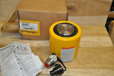 Enerpac Rcs-502 Low Height Hydraulic Cylinder 50 Cap New