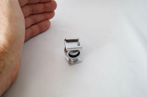 Adjustable metal cold shoe flash mount