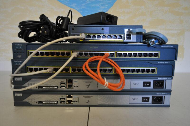 Cisco Complete CCNA & CCNP Security home lab kit w/ASA5505 Firewall 15.1 IOS