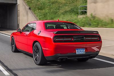 DODGE CHALLENGER RT style SPOILER PAINTED Lifetime Warranty ALL COLORS