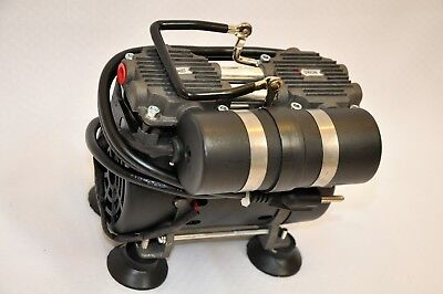 Oil-less Twin Piston Pumpcompressorpushpull Medic Sci Oxygen Concentrate Lab