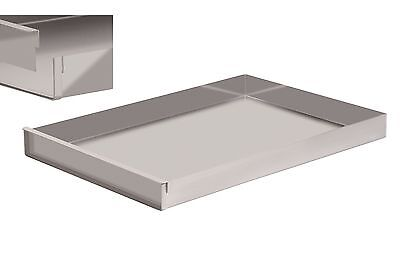 Schnittkuchenblech Backblech Küchenblech 58x40x5 cm mit Rand mit Steckschiene