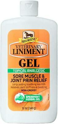 Absorbine Veterinary Liniment Gel 12oz Topical Analgesic - Joint Pain Relief USA