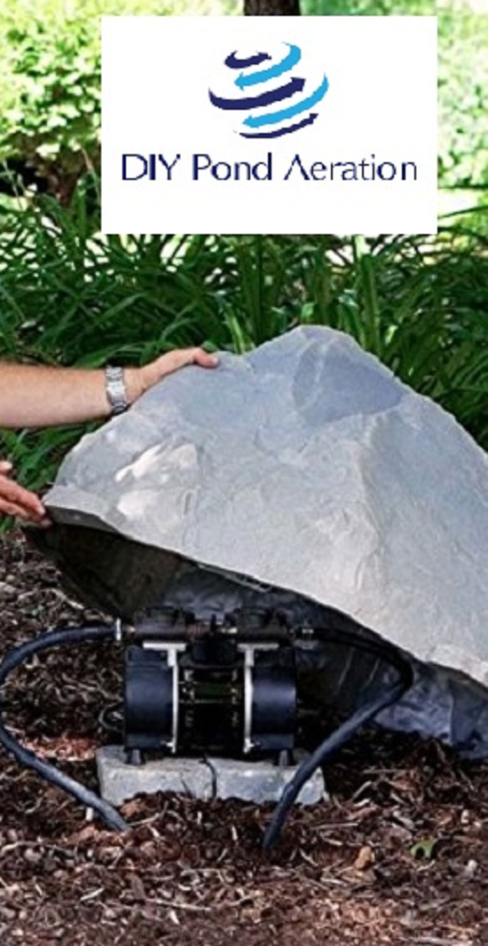 Artificial Rock Cover Enclosure For Pond Aerators/ Septic...