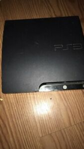 PlayStation 3 (ps3) with games and controller