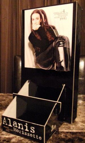 "ALANIS MORISSETTE ""JAGGED LITTLE PILL"" U.S. PROMO COUNTER DISPLAY / CD HOLDER"