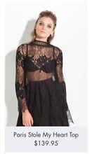 Mossman 'Paris Stole My Heart' Dress/Top - Size 8 Whittington Geelong City Preview