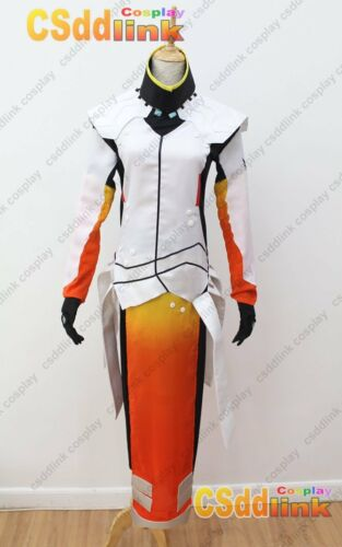 Overwatch mercy cosplay costume white amp orange ebay