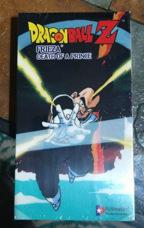 Dragon Ball Z - Frieza: DEATH OF A PRINCE (VHS, 1999) Factory Sealed New.