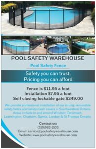 Pool Safety Fence - Best Price Guarantee