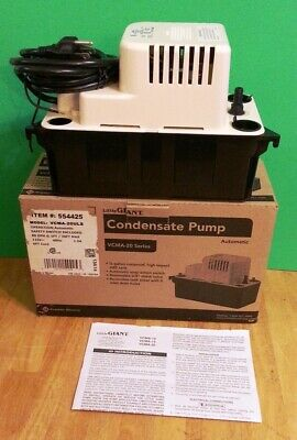 Little Giant Condensate Pump Vcma-20uls 554425
