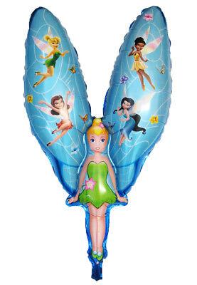 Folienballon TinkerBell Tinker Bell Fee Heliumballon Lüftballon Kindergeburtstag (Tinkerbell Ballons)