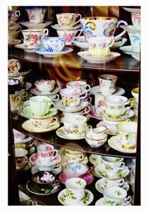 HUGE SELECTION OF TEACUPS