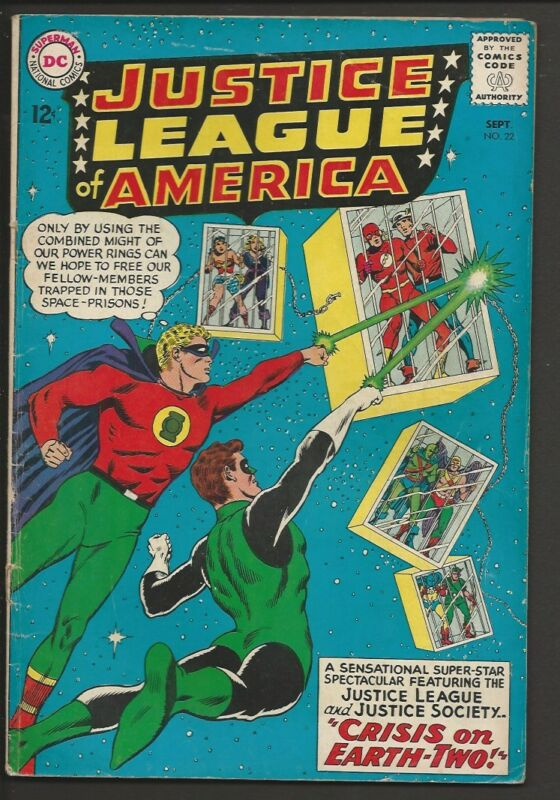 1963 DC Justice League of America #22 VG+