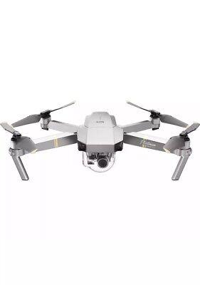 DJI Mavic Pro Platinum Quadcopter Drone RTF GPS 4K UHD 12mp UK NEW