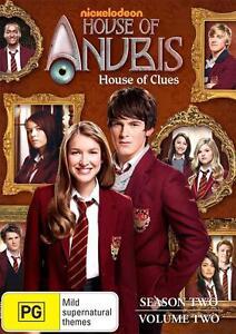 HOUSE OF ANUBIS House of Clues Season 2 Volume 2 (Region 2) DVD