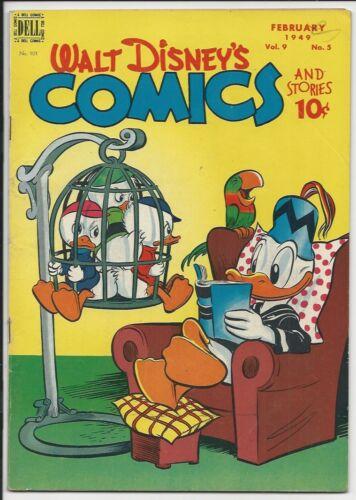 1949 Dell Walt Disney Comics and Stories #101 F/VF