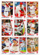 Topps Phillies Team Set 2013