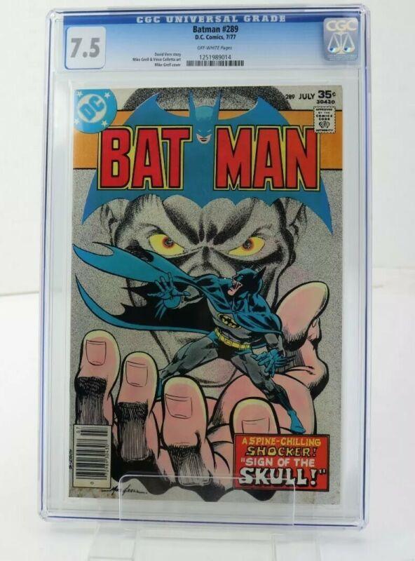 DC Comics Batman #289 (07/1977) CGC 7.5