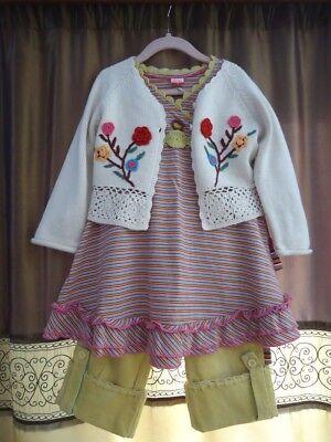 Chasing-Fireflies Shilav 3 piece set , outfit - AMAZING - size 4