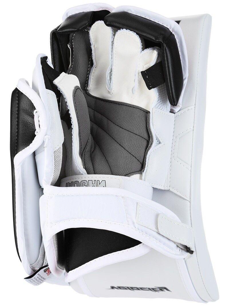 ed8155d6950 ... Vaughn Xr Pro hockey goalie blocker glove Sr full right Velocity V7  senior black фото ...