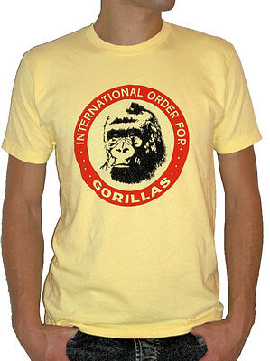 International Order For Gorillas T Shirt   Real Genius Shirt