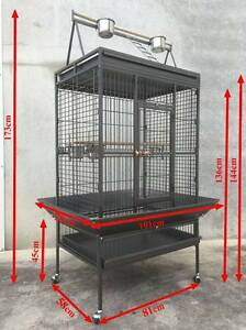 Jan sale quality bird cage aviary 1.73M with stand Riverwood Canterbury Area Preview