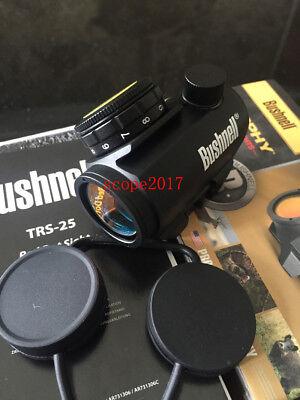 Bushnell-Trophy-TRS-25-Red-Dot-Sight-Riflescope-1-x-25mm-Black-100-NEW-731303