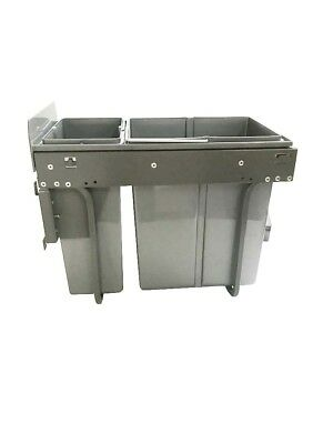 Techtongda  Pull Out Top Mount Waste Container Garbage Bin In-Cabinet
