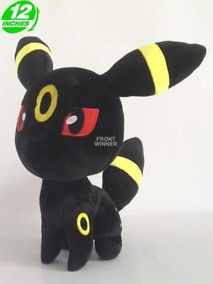 "12"" Pokemon Umbreon Plush Doll Anime Stuffed Christmas Gift PNPL9212 for sale  Shipping to Canada"
