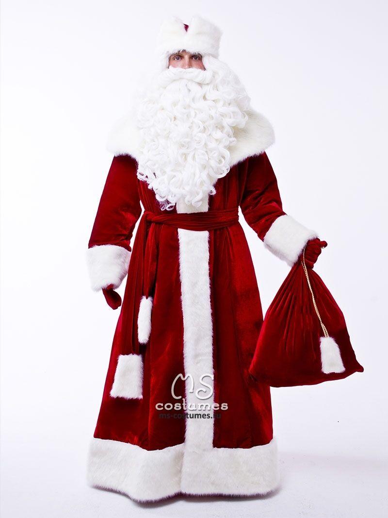 Как сшить костюм Деда Мороза без расходов 74
