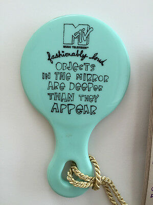 MTV fashionably loud collectible mirror 1995 90s rock fashion house of style