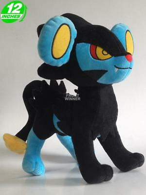 "12"" Pokemon Luxray Plush Anime Stuffed Game Toy Doll PNPL1223"