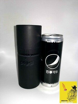 china 2017 pepsi cola Pepsi X Alexander Wang can box empty  330ml