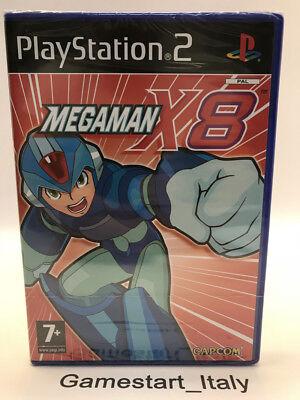 MEGAMAN X8 - PS2 - NEW SEALED PAL UK VERSION PLAYSTATION 2