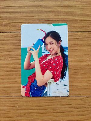 TWICE TWICEZINE JeJu Island Edition Official Photocard MINA