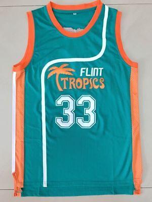 Semi Pro Jackie Moon 33 Flint Tropics Basketball Jersey green All stitched ](Jackie Moon Jersey)