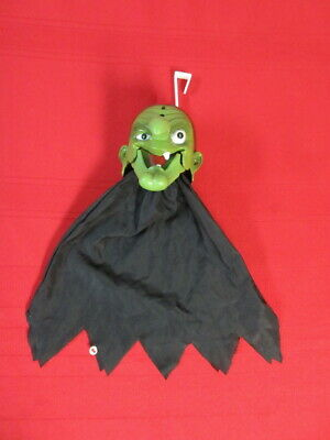 Vintage Gemmy Hanging Animated Witch Motion Activated Talks/Jaw Moves/Eyes Light
