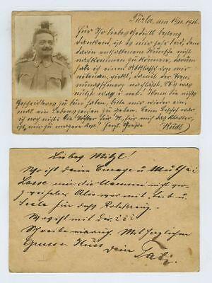 (2) WWI Military Feldpost Postcards Tuzla Pazaric Bosnia Cancels Postmark bv5134