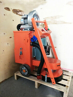 Brand New 220v Concrete Floor Grinder With Fanindustry Tools Heavy Duty Us