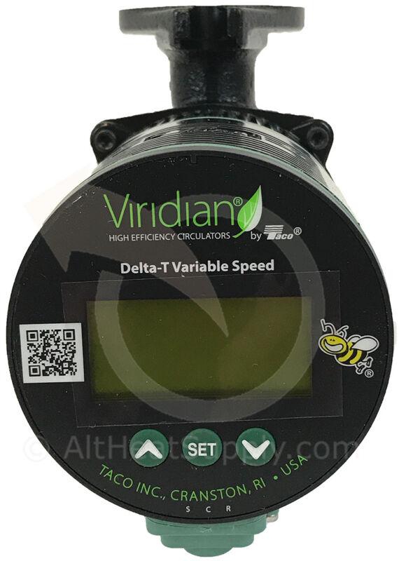 Viridian Delta-T Variable Speed ECM High Efficiency Circulator (120V)