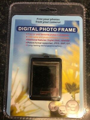 MINIPHOTO DIGITAL PHOTO FRAME MINI LCD SCREEN WITH KEYCHAIN