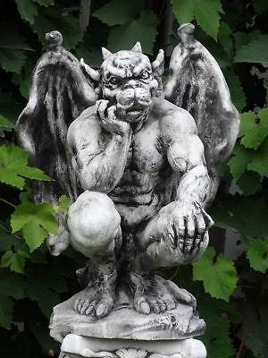 Steinfigur Gargoyle DEMON ca.61 cm ca. 50 kg 587-D