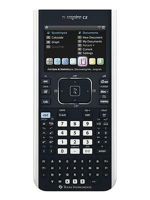Texas Instruments TI-Nspire CX Graphing Calculator - Upgraded 1300mAh Battery!