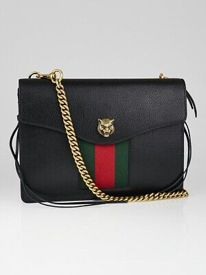Genuine Gucci Animalier Leather Chain Shoulder Bag