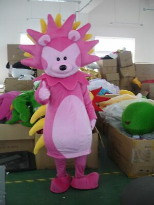 Hedgehog Mascot Costume Suit Cosplay Party Xmas Dress Outfit Halloween Adult New](Hedgehog Suit)