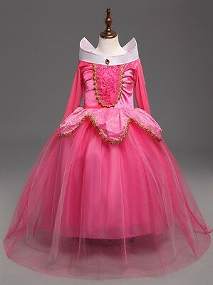 Sleeping Beauty Princess Aurora Party Dress  kids Costume Dress #2  for girls - Dress For Girl